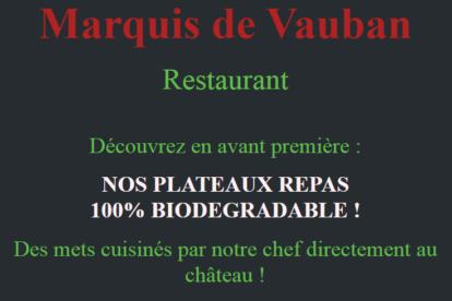 NOUVEAUTE ! Plateaux Repas !!